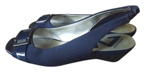 Anne Klein Blue Wedges