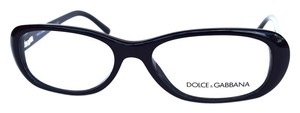 Dolce&Gabbana DOLCE & GABBANA Eyeglasses Black Optical Frame 54mm
