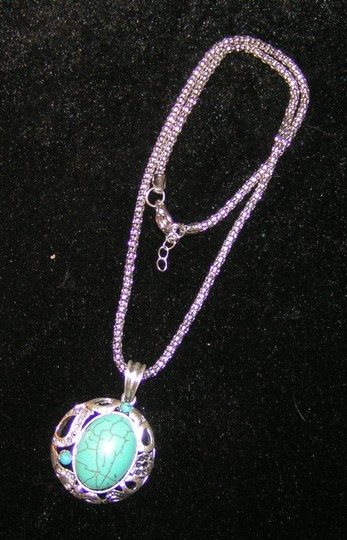 Preload https://item1.tradesy.com/images/silverturquoise-bogo-free-free-shipping-necklace-1601415-0-0.jpg?width=440&height=440