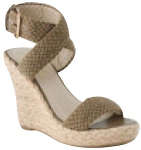 N.Y.L.A. Nude Wedges
