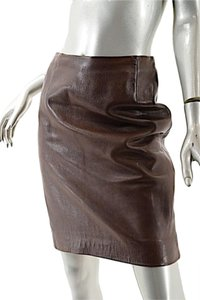 Donna Karan Chocolate Skirt Brown