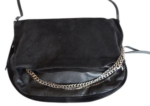 Jimmy Choo Biker Biker Satchel in Black