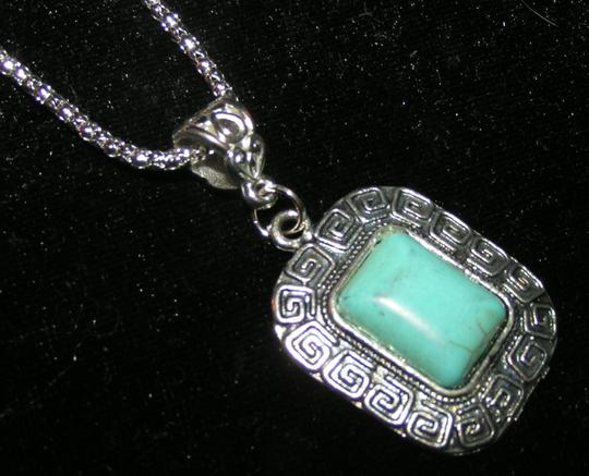 Turquoise Silver Bogo Free Free Shipping Necklace
