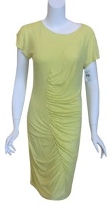 Diane von Furstenberg short dress Yellow on Tradesy