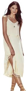 Lulu*s short dress Cream on Tradesy