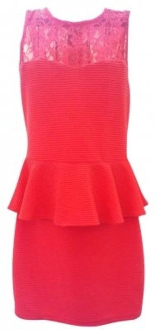 Preload https://img-static.tradesy.com/item/160147/charlotte-russe-coral-peplum-mini-short-casual-dress-size-4-s-0-0-650-650.jpg