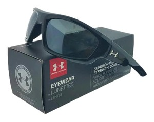 Under Armour Under Armour 8600026-5108 Power Black/Grey Lens Polarized Sunglasses