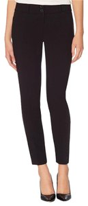 The Limited Red Burgundy Business Casual Pencil Ankle Relaxed Pants Black