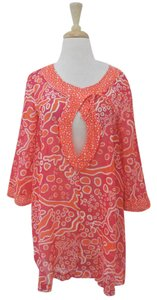 Diane von Furstenberg Printed Cotton Silk Tunic