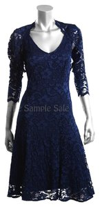 Joseph Ribkoff Lace Bolero Dress