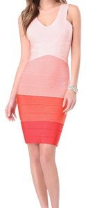 bebe short dress Orange ombre on Tradesy