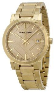 Burberry Burberry Classic Check BU9033 Gold Tone Stainless Bracelet Watch