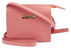 Versace Collection Leather Cross Body Bag