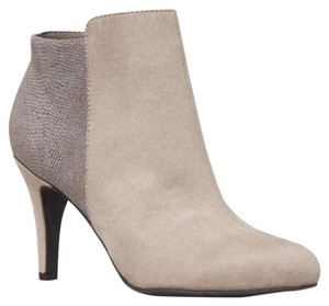 Express Contrast Ankle Taupe Boots