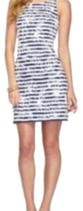Lilly Pulitzer short dress White/navy on Tradesy