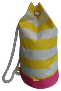 Clinique Weekender Gym Canvas Multi colored Beach Bag