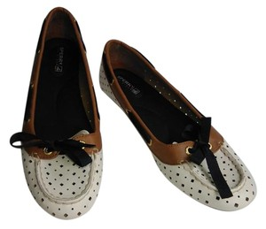 Sperry New Topsider Nautica White Flats