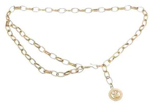 Chanel Chanel Vintage Gold Frog Chain Belt