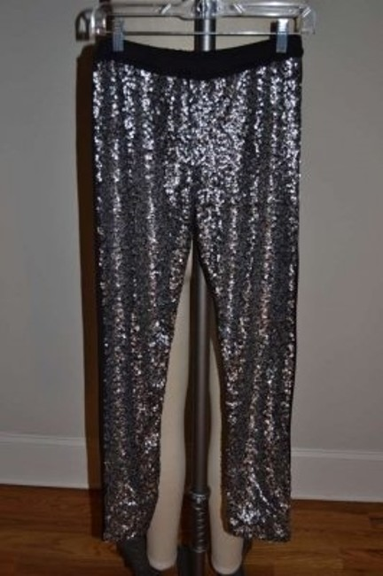 ASOS Black/silver sequins Leggings