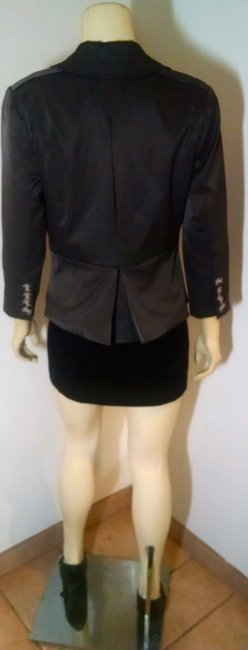 Cynthia Rowley Dress Jacket Size Small Button Front P1039 gray Blazer