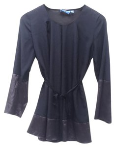 Simply Vera Vera Wang Top Black & Charcoal