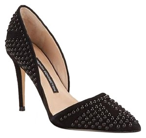 French Connection Studded Sleek Sexy Classy Black Pumps