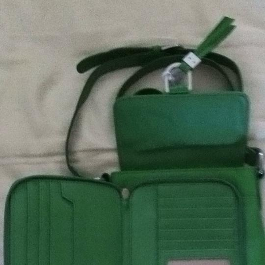 Coldwater Creek Tote in Green Image 1