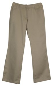 Lands End Straight Pants Khaki