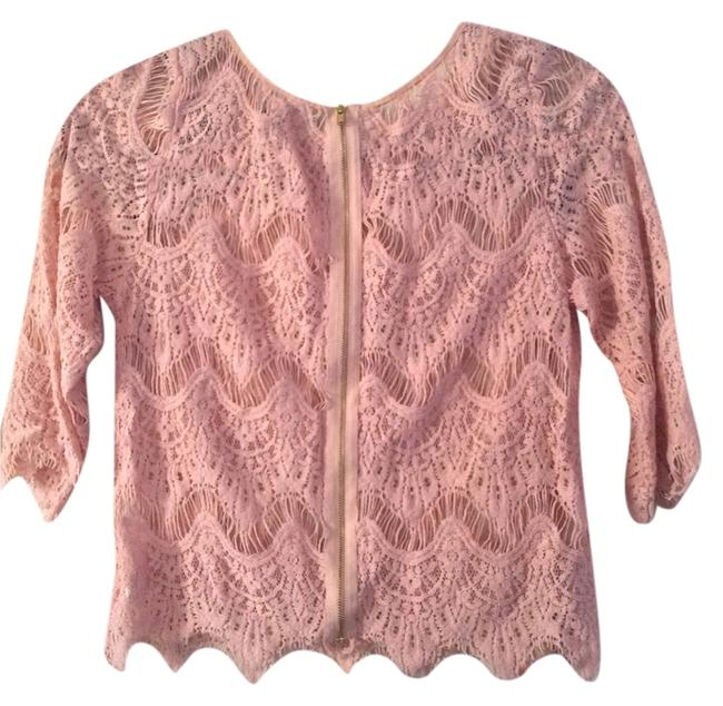 2b bebe Top Light pink & black