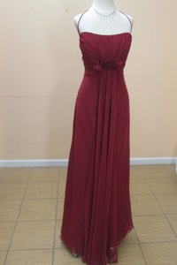 Eden Cranberry 7352 Dress