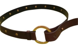 Gucci Gucci brown leather belt
