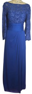 Patra Royal Blue Rn 65518 Dress