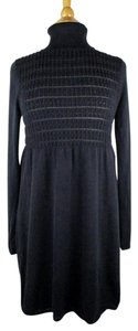 Max Studio short dress Black Sweater on Tradesy