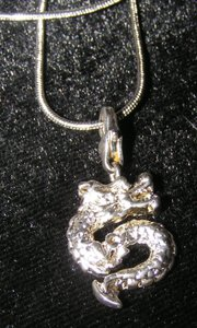 Snake Dragon Necklace Free Shipping