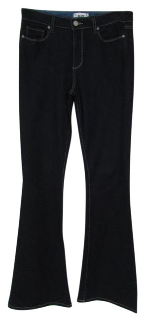 Item - Blue Dark Rinse High Bell Canyon Flare Leg Jeans Size 29 (6, M)