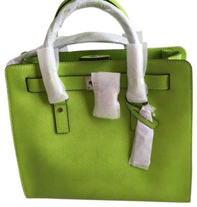Michael Kors Satchel in Lime Green