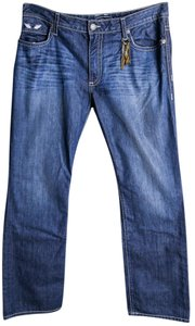 Robin's Jean Born To Be Wild Mens Relaxed Fit Jeans-Medium Wash