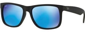 Ray-Ban RB4165-622-55 JUSTIN COLOR MIX Black Size 54mm Sunglasses