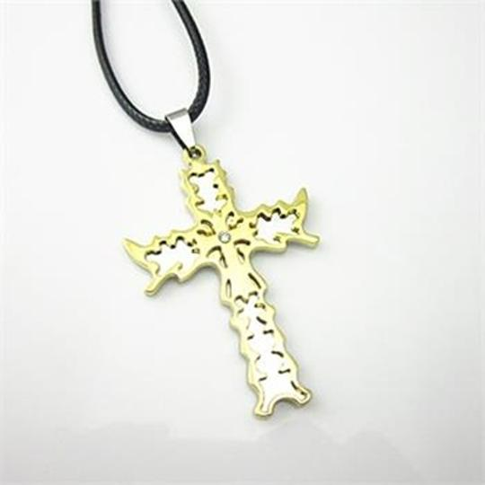 Bogo Free Stainless Steel 2 Tone Cross Free Shipping