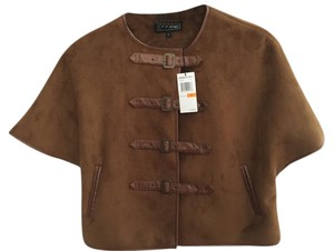 Members Only Cape Coat Brown Jacket