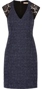 Rebecca Taylor Lace Tweed Dress