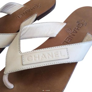 Chanel Tan/brown Sandals