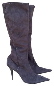 Jessica Simpson Suede Pointy Toe Knee Brown Boots