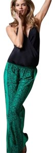 ViX Wide Leg Pants Green