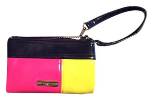Steve Madden Wristlet in Multi-color, yellow, blue, pink