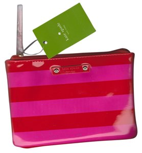Kate Spade Kate Spade Mini Pouch Snapdragon and Red Stripes