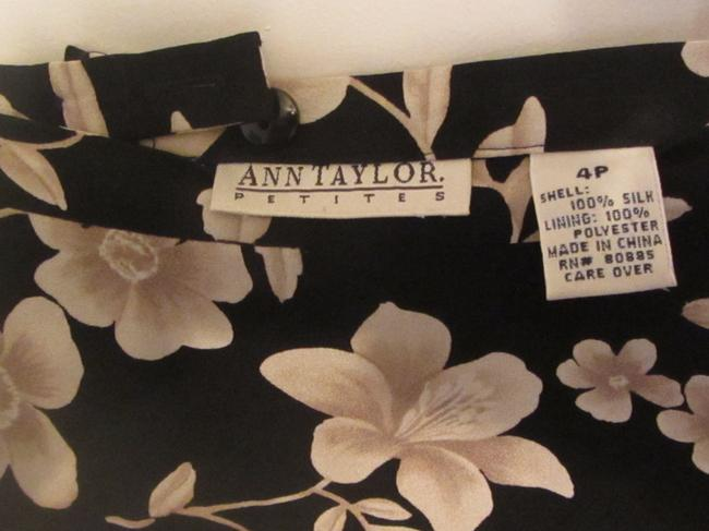 Ann Taylor Skirt navy with flower print Image 1