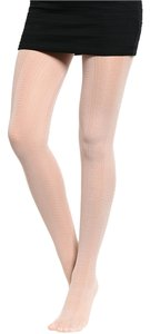 Eve & Belle Formal Casual Sassy Dinner Date Light Pink/Dirty White Leggings
