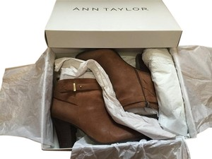 Ann Taylor Darla Belted Brown Boots