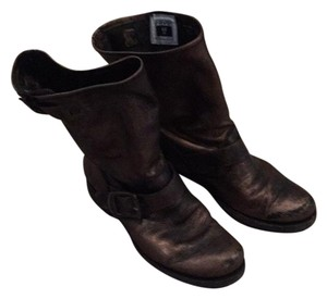 Frye Bronze leather Boots